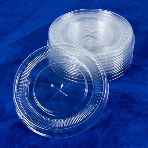 Shake Deckel Set, 8er Pck, Ø 90mm, passend zu 9cm-Milchshake-Bechern