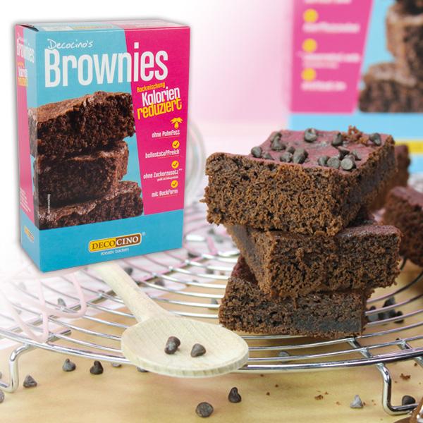 Brownie Backmischung, kalorienreduziert