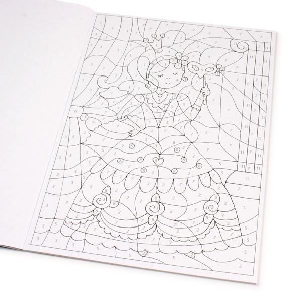 Malen nach Zahlen - Prinzessinnen