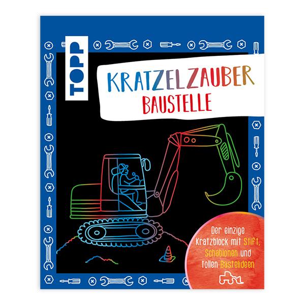 """Kratzelzauber """"Baustelle"""""""
