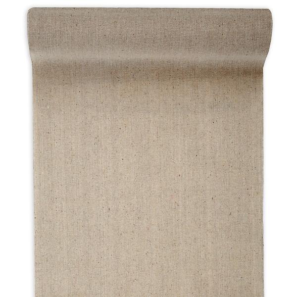 Tischläufer in Beige, Baumwolle, 5m x 28cm