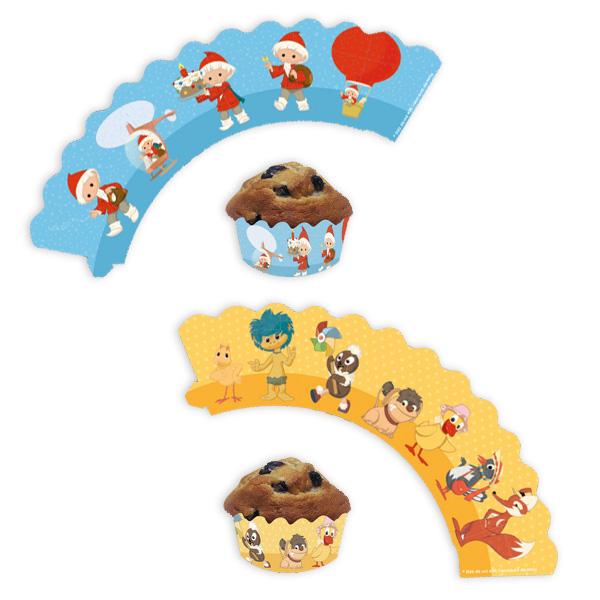 Unser Sandmännchen Muffinbanderolen, 12er Pack