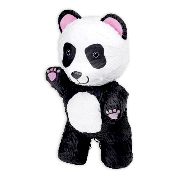 Panda-Pinata aus Pappe, 43cm x 26cm x 24cm