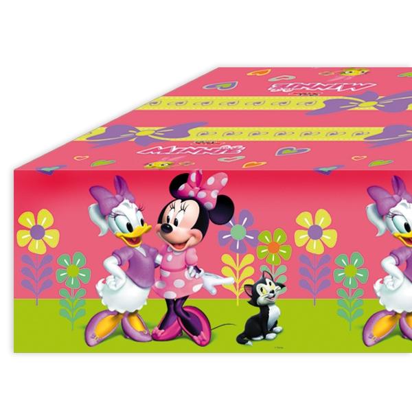 Minnie Maus Tischdecke, 1,2mx1,8m, Geburtstagstischdecke für Fans