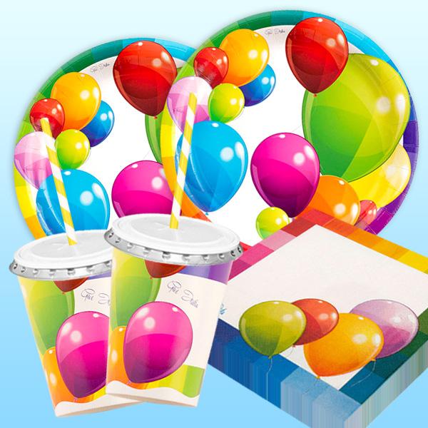 Ballonparty - Basic Set, 50-teilig für bis zu 8 Kids