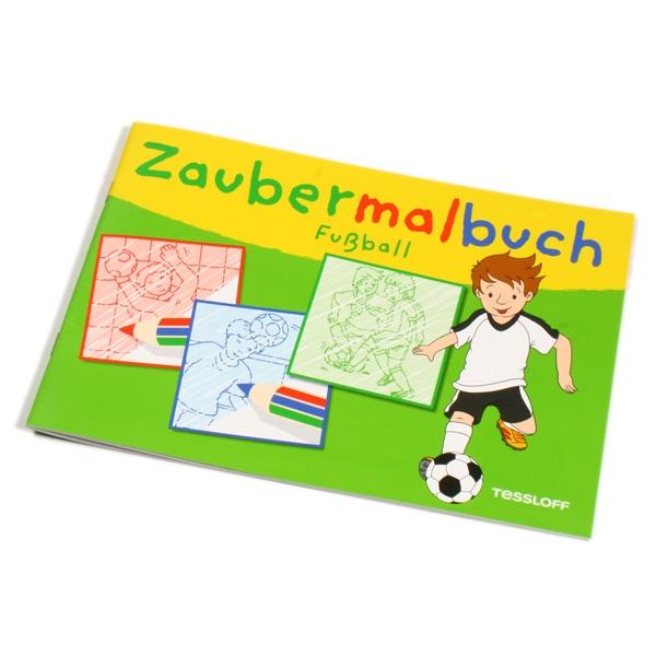 Fussball Zaubermalbuch, 32 Seiten, 32 Zauberbilder für kleine Fußballer