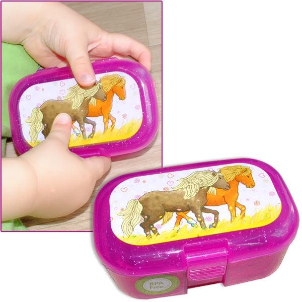 Mein Ponyhof Mini-Lunchbox, 10,5cm x 7cm