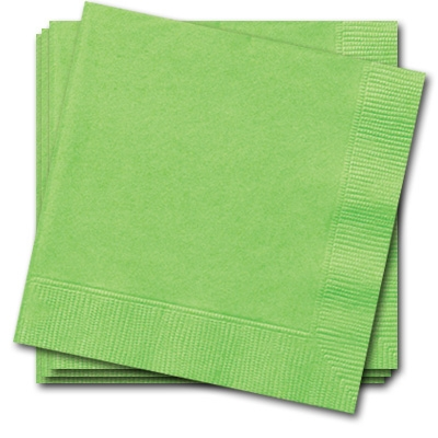 Servietten grasgrün 20 Stück einfarbige Papierservietten, 33cm