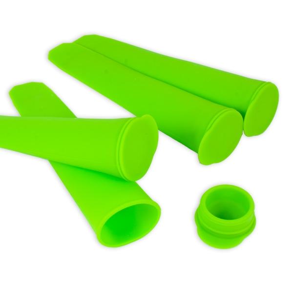 4 Silikon Wassereis-Formen für selbstgemachtes Eis