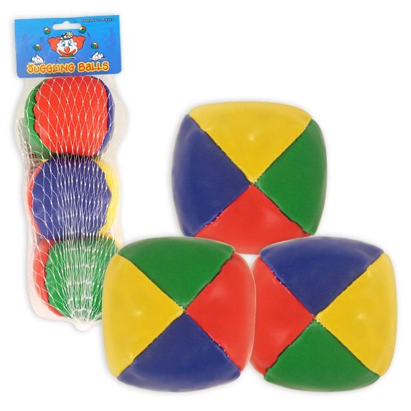 Jonglierbälle 3 Stück zum Jonglieren lernen mit 3 Bällen, je 5 cm