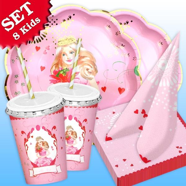 """""""Prinzessin"""" - Basic Set, 54-teilig für bis zu 8 Kids"""