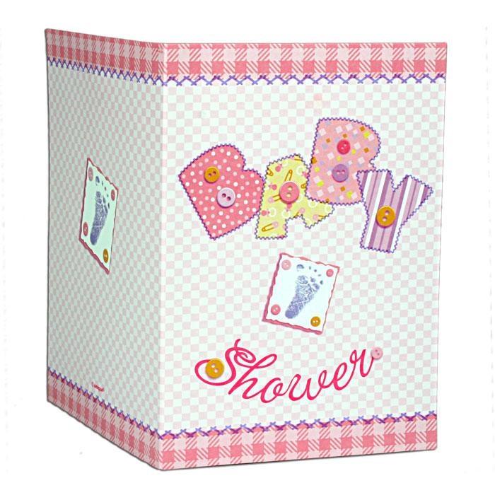 Baby Shower Einladungen im 8er Pack zur Geburt eines Mädchens