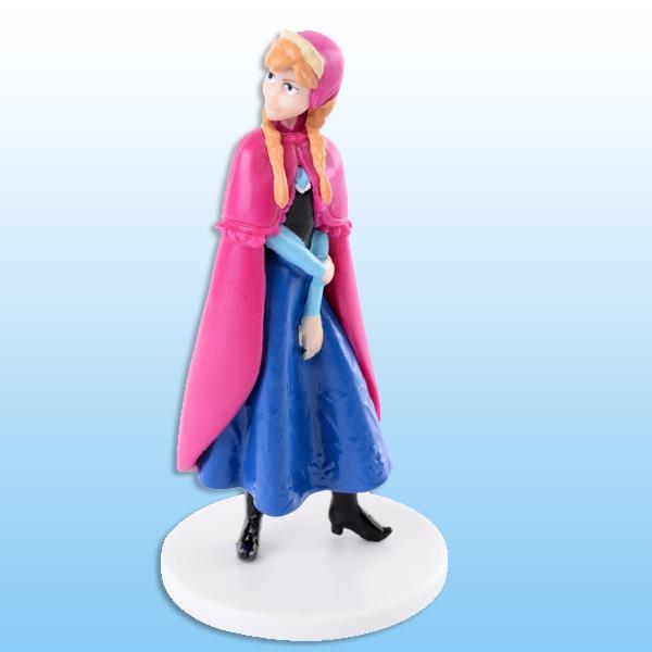 Tortendeko-Figur aus Frozen - Anna, 4,4cm x 8cm