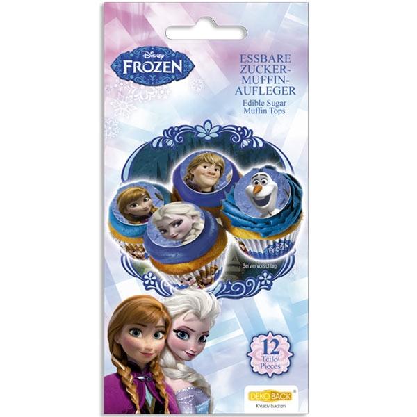 Eiskönigin-Muffinaufleger 12er Pack