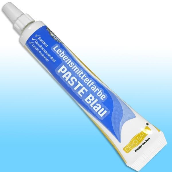 Lebensmittelfarbe Paste blau, 25g in Tube