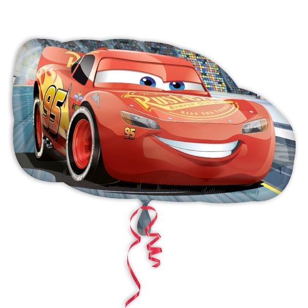 """Folienballon """"Lightning McQueen"""", 76 x 43cm"""