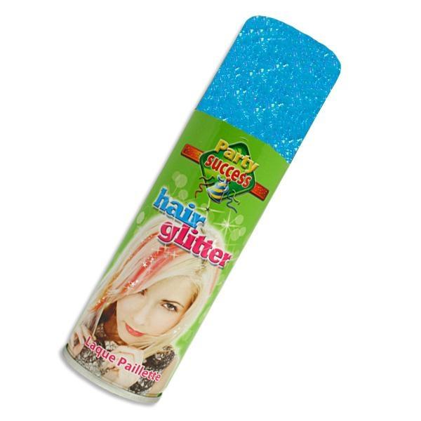 Glitzer-Haarspray in Blau, hohe Deckkraft, leicht auswaschbar,125ml