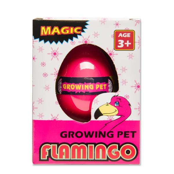 """Schlüpf Ei """"Flamingo"""", pink und süß, 1 Stk, 6cm"""