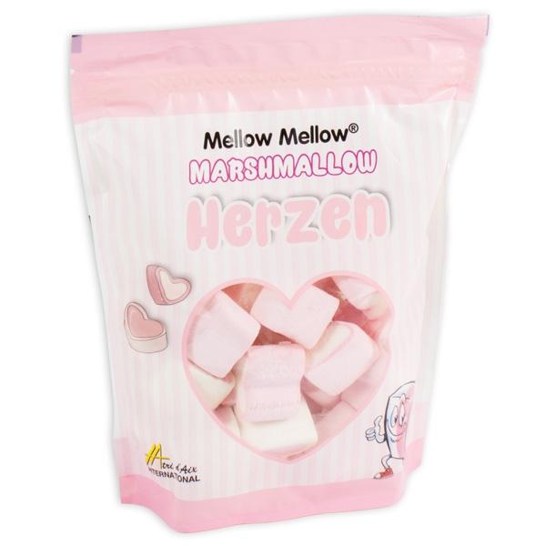 Marshmallows in Herzform, 125g Beutel
