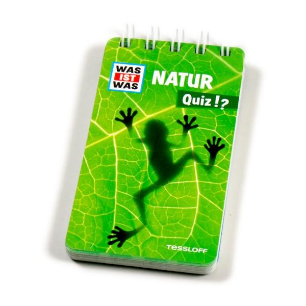 WAS IST WAS Quizblock-Natur 38 S., Wissenswertes über Tiere & Pflanzen