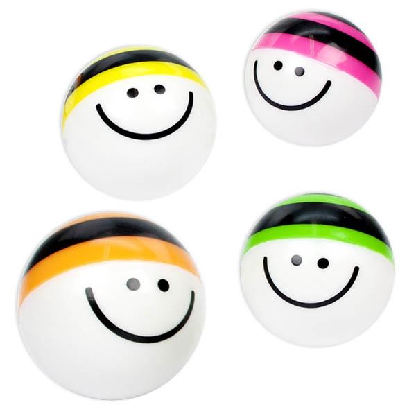 """Flummi """"Happy Cappy"""", Hüpfball mit Gesicht und bunter Mütze, 1 Stk."""