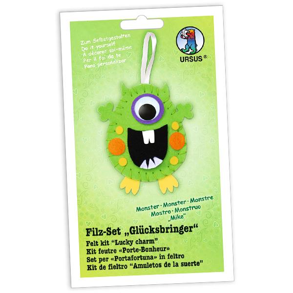 "Filz-Glücksbringer Bastelset ""Monster Mike"""