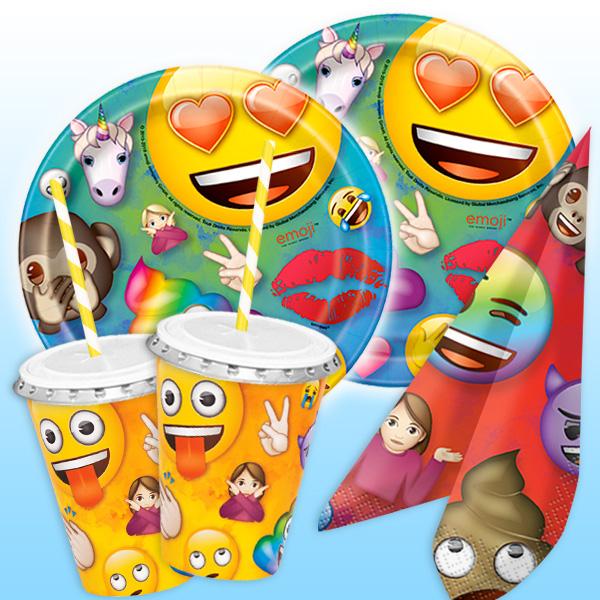 """""""Emoji"""" Basic Set, 48-teilig für bis zu 8 Kids"""