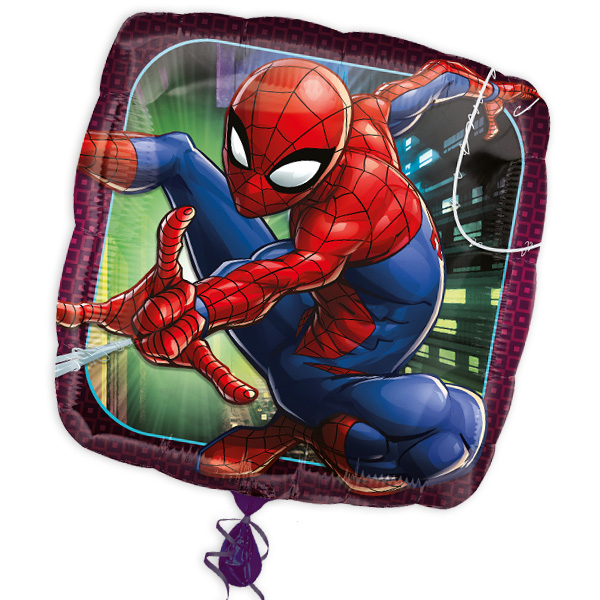 "Folienballon ""Spiderman"", 34cm x 34cm"