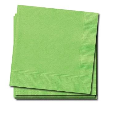 Servietten grasgrün 20 Stück kleine Papierservietten für Tischdeko, 25cm