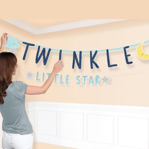 Twinkle - Little Star - 2 Buchstabenketten im Set, Babyparty