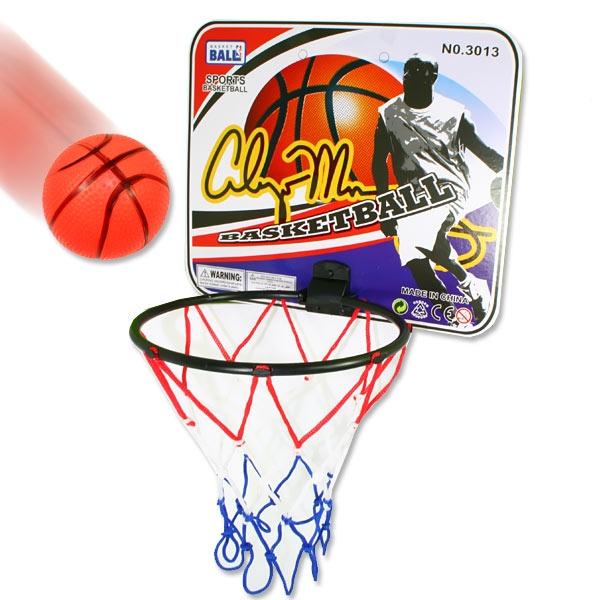 Basketballspiel mit Korb u. Ball im Set
