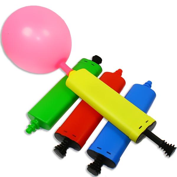 Ballonpumpe, flach, 28cm, zum einfachen Aufblasen von Ballons, 1 Stk
