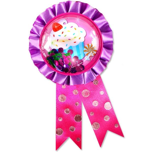 Candyshop Ansteckbutton, toller Anstecker für Naschkatzen, 13,5 cm