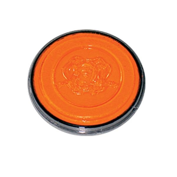 Kinderschminke Neon-orange, Profi Aqua, hohe Deckkraft, in 3,5ml Dose
