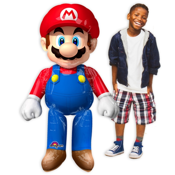 Super Mario Airwalker XXL 91cm x 152cm