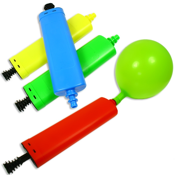 Ballonpumpe, sehr praktisch u. nützlich bei vielen Luftballons, 27cm