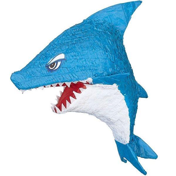 Böser Hai - coole Pinata zum Zerschlagen, für Pinataspiele