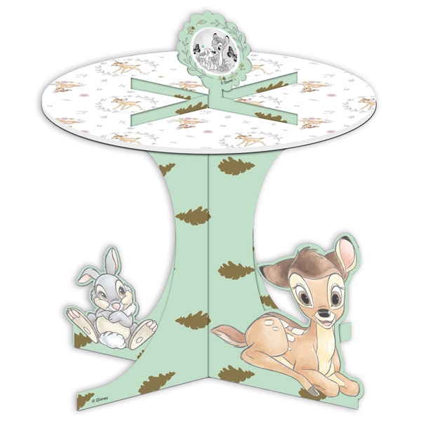 Bambi Muffin-Etagere, 27cm x 25cm mit Haase Klopfer, stabile Pappe