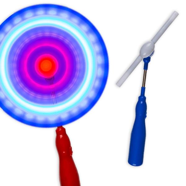 LED Leucht-Stab, rotierend, 1 Stück, ca. 28 cm