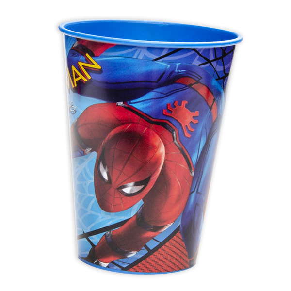 Spiderman-Kinderbecher aus Kunststoff, 1 Stück, 260ml