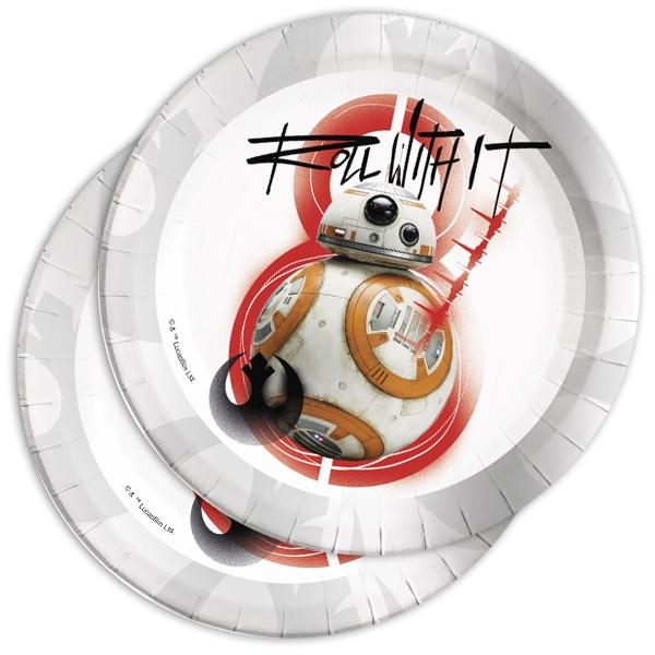 Star Wars Episode 8 Rebels Partyteller, 8 Stk, 22cm