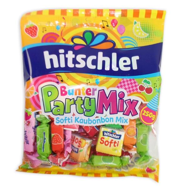 Bunter Party Mix von Hitschler, 250g in Tüte