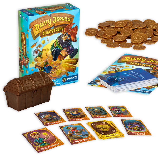 Davy Jones Schatztruhe - das brenzlige Dukatenzocken