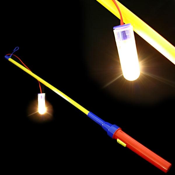 Laternenstab, inkl. Ersatzbirne, elektrisch, für Laternen und Lampions