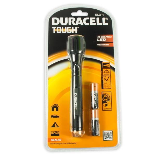 Duracell LED-Taschenlampe, 1 coole Kindertaschenlampe mit Batterien