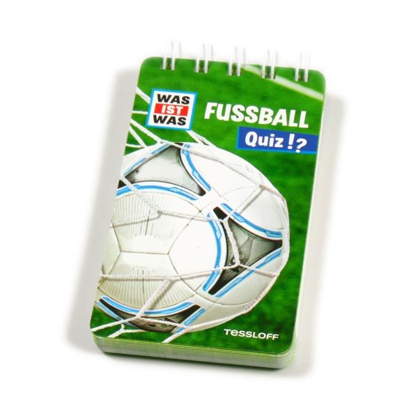 WAS IST WAS Quizblock-Fußball, Mitgebsel für Fußballparty Kinder