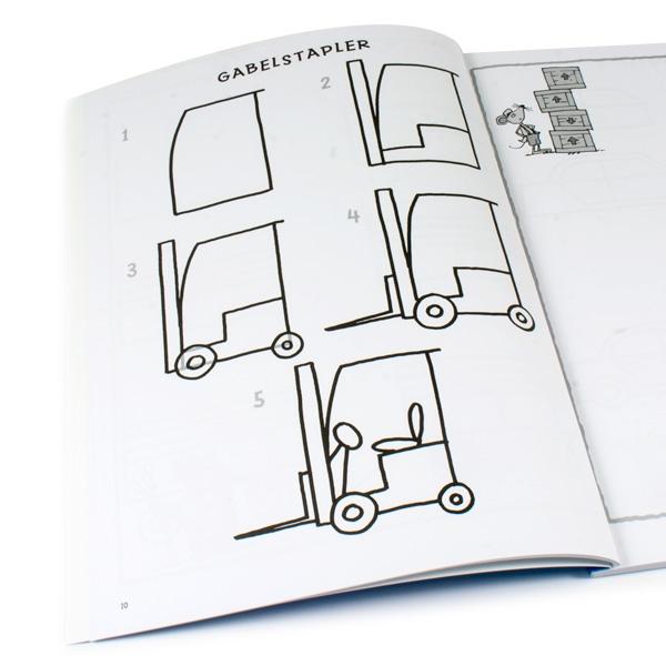 Schritt für Schritt - Fahrzeuge zeichnen
