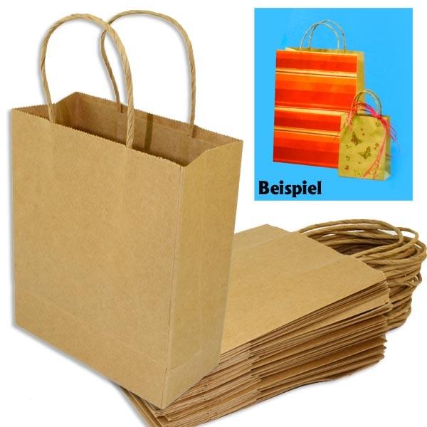 Geschenktaschen aus Papier, 20 Stück, 24 × 31 cm, nachhaltige Geschenkverpackung