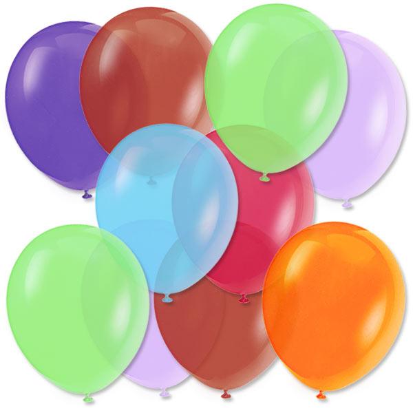 Bunte Ballonmischung 50! Luftballons, 27,5cm