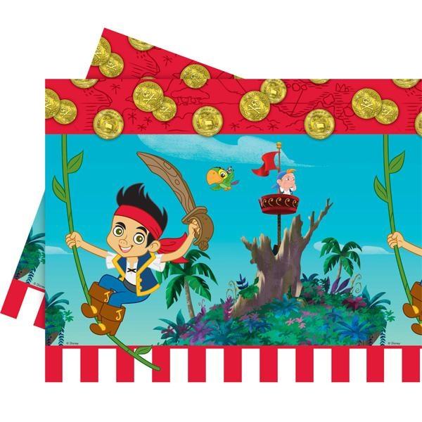 Jake und die Nimmerland-Piraten, Tischdecke, Folie, 120 × 180 cm